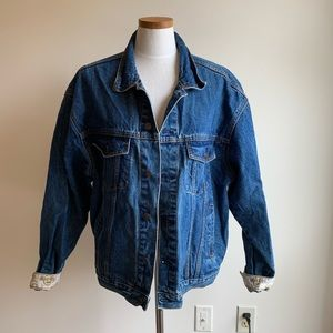 Vintage hard rock Orlando denim jacket